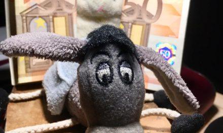 Donkey and Rabbit raising money for their next adventure!
