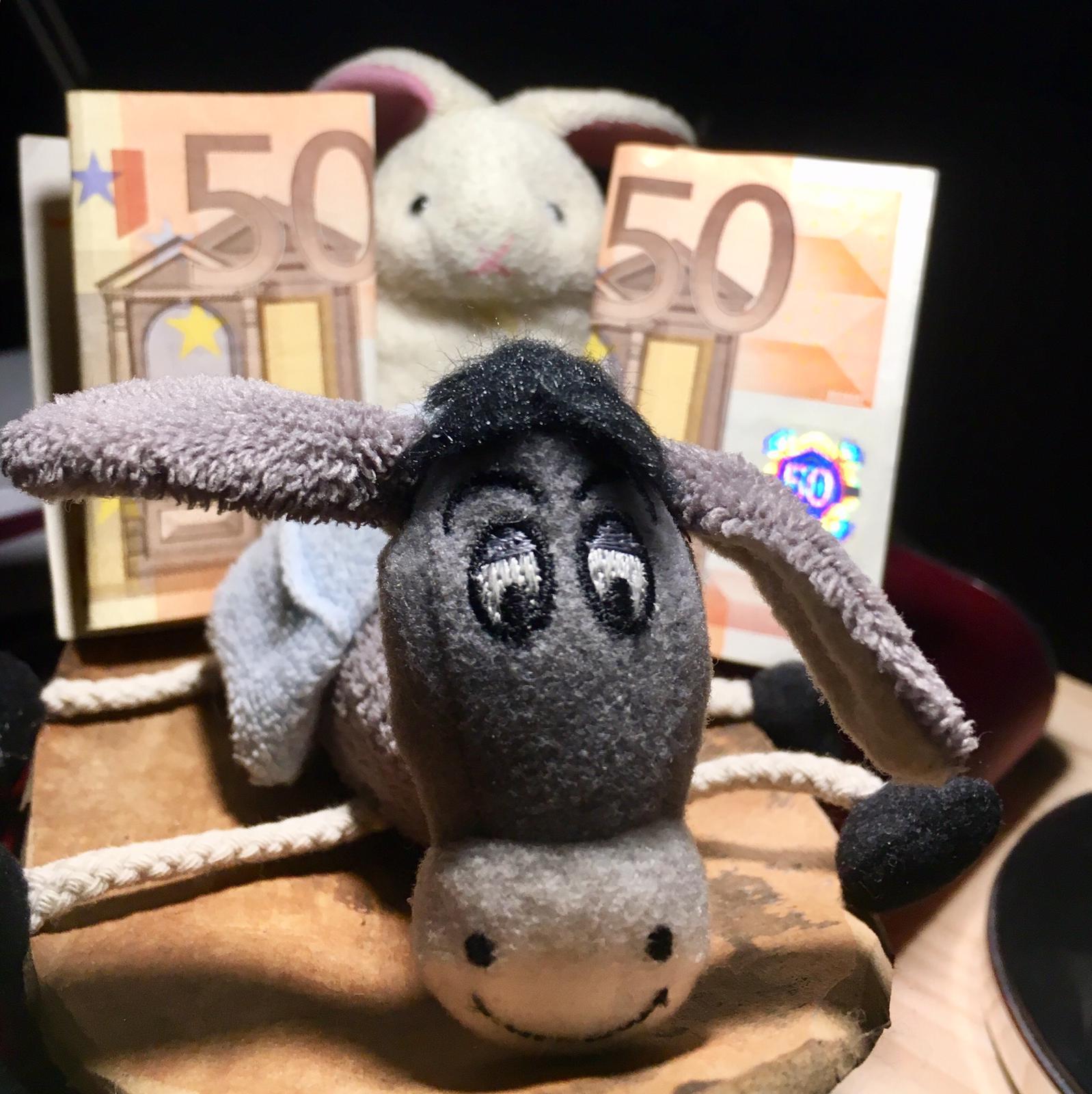 The Donkey and the Rabbit in Virunga!