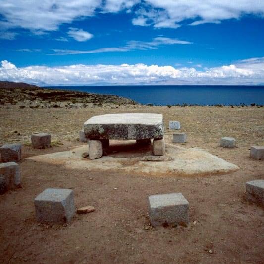 Isla del Sol - lago Titicaca - Bolivia